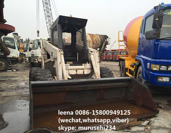 China Low Working Hrs Used Wheel Loaders Bobcat S300 Skid Steer Loader Made In Usa distributor
