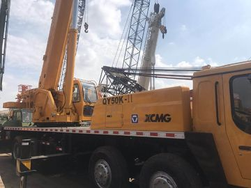 China 2012 Model XCMG Used Cranes 50 Ton Qy50k-2 Mobile Hydraulic Crane With 5 Booms factory