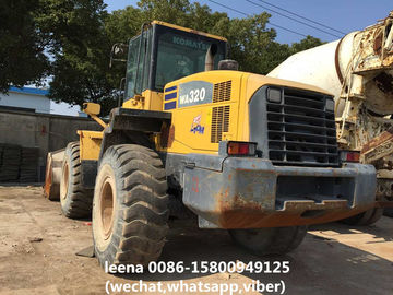 China Komatsu Used Wheel Loaders Wa320-5 Front Payloader 3cbm Bucket Wheel Loaders factory