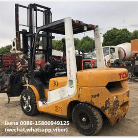China used 3ton tcm forklift FD30T7 originally made in japan in 2010  low working hrs  2000-4000 hrs factory