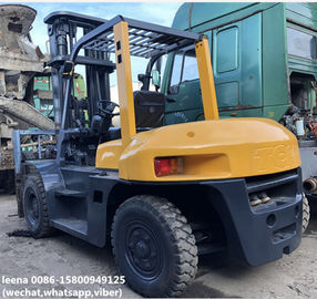 China used 7ton tcm 3stages diesel forklift FD70Z8 originally made in japan,low working hrs ,6m lifting height factory