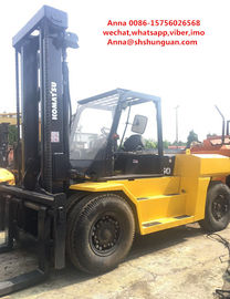 China Japan second hand Komatsu 15ton forklift , FD150E-7 15t capacity forklift for sale distributor