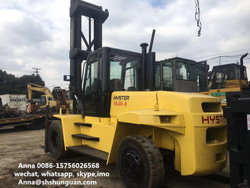 China Hyster 16ton Used Forklift , Diesel Hyster H16.00XM-6 16t Forklift distributor