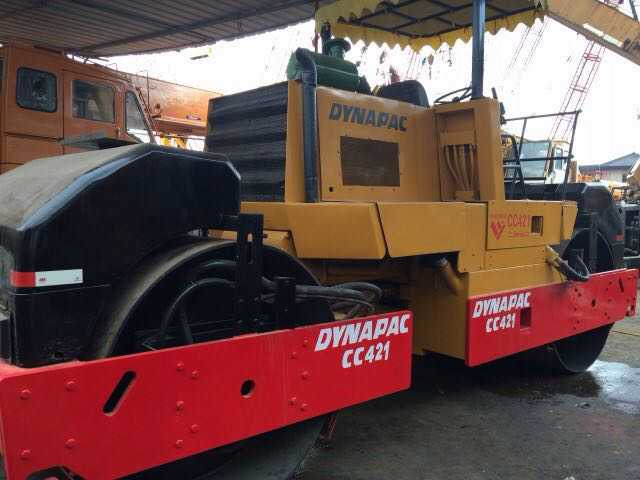 Construction Machinery Second Hand Road Roller Dynapac CA30D CC211 CA251D