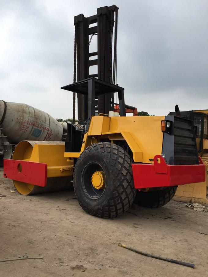Ca30d Used Dynapac Road Roller , Sweden Used Single Drum Roller Compactors