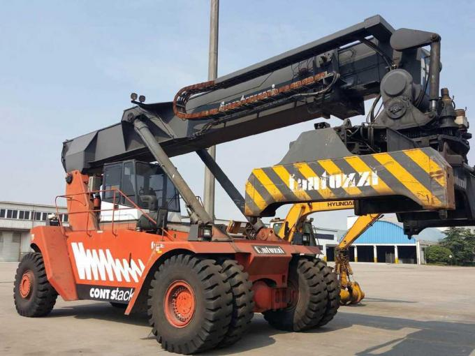 DCD450-12G Used Container Handler , Shipping Container Lift Truck